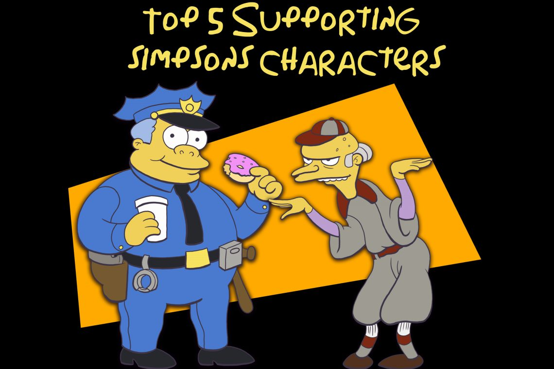 11 – Top 5 Supporting Simpsons Characters – PodCavern
