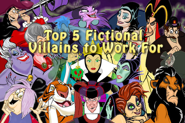42 – Top 5 Fictional Villains to Work For – PodCavern