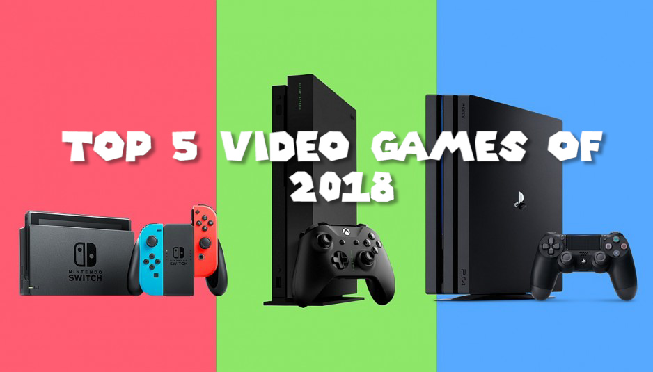 50 – Top 5 Video Games of 2018 – PodCavern