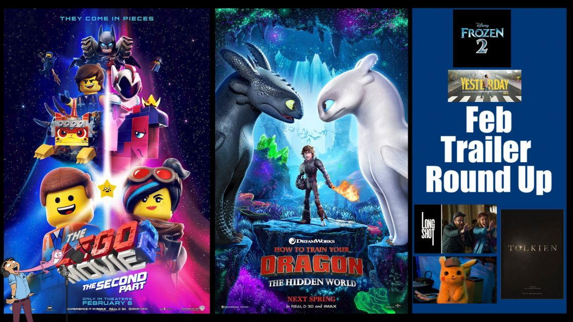 Ep 10 The Lego Movie 2 How To Train Your Dragon 3 Trailer Round Up Podcavern