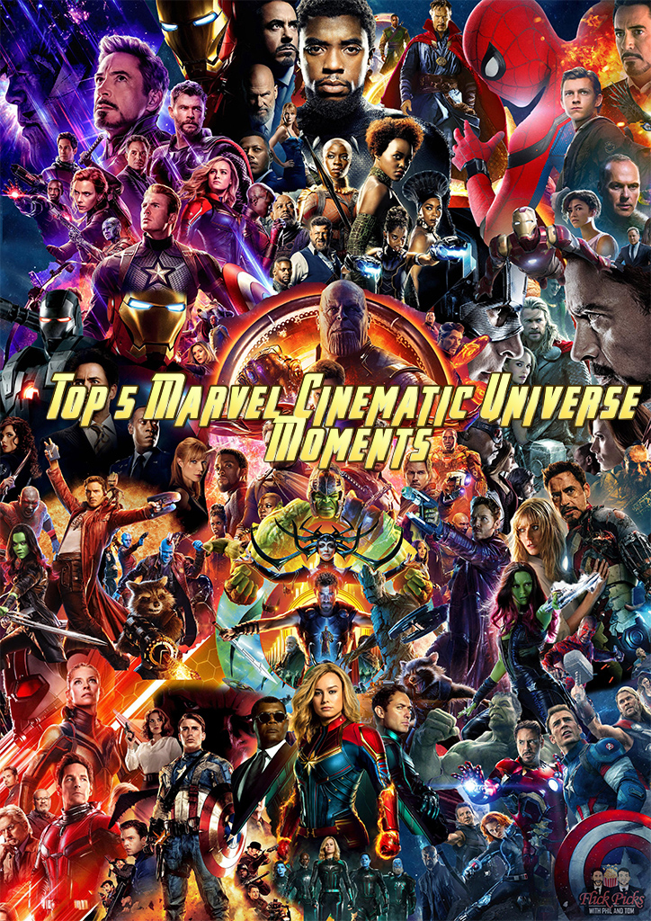 59 – Top 5 Marvel Cinematic Universe Moments – PodCavern