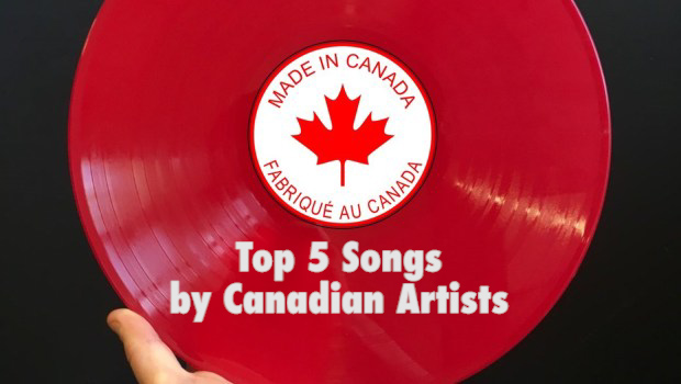63 – Top 5 Songs from Canadian Artists – PodCavern